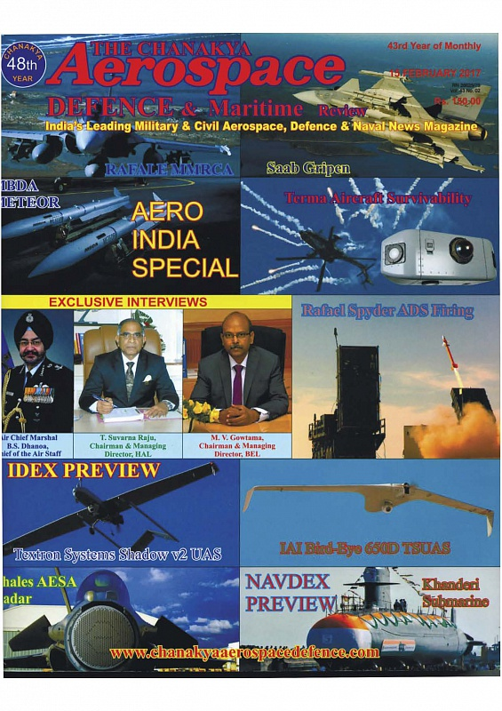 The Chanakya Aerospace Defence & Maritime Review magazine has published the article about JSC SSTC